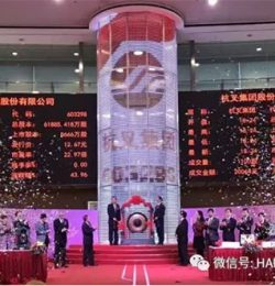 Xe nâng HANGCHA đã được công bố trên thị trường chứng khoán Thượng Hải