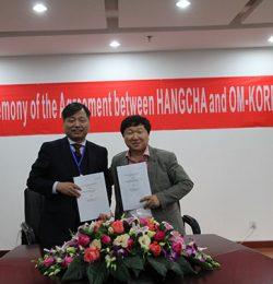 Xe nâng Hangcha mở chi nhánh tại Hàn Quốc