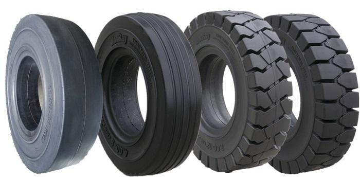 Tìm hiểu các loại lốp xe nâng hàng động cơ điện & động cơ đốt trong