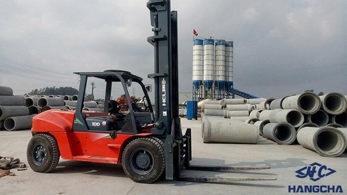 cho thuê xe nâng hàng 10 tấn