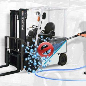 Rửa xe nâng: hướng dẫn làm sạch xe nâng đúng cách