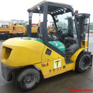 Xe nâng dầu Komatsu cũ 4 tấn 2008
