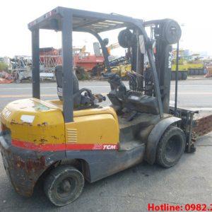 Xe nâng dầu TCM cũ 2.5 tấn 2013