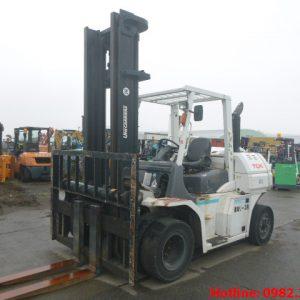 Xe nâng dầu TCM cũ 6 tấn 2014