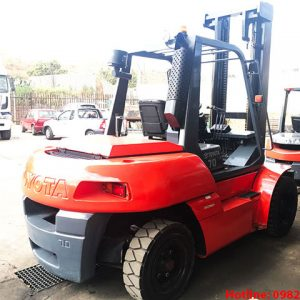 Xe nâng dầu Toyota cũ 7 tấn 2011