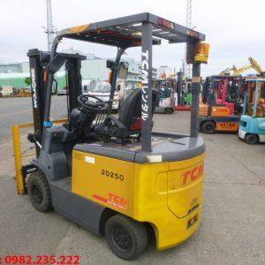 Xe nâng điện TCM cũ 2.5 tấn 2012
