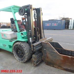 Xe nâng dầu Mitsubishi cũ 4 tấn 2000