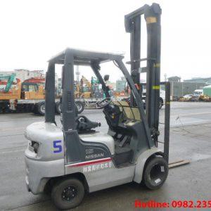 Xe nâng dầu Nissan cũ 1.5 tấn