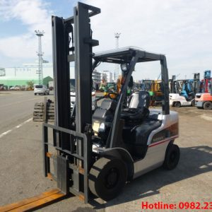 Xe nâng dầu Nissan cũ 2.5 tấn 2012