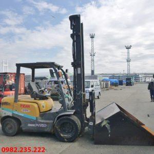 Xe nâng dầu Unicarriers cũ 3 tấn 2013