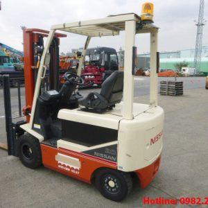 Xe nâng điện Nissan cũ 2 tấn 2011
