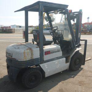 Xe nâng dầu Komatsu 2.5 tấn 1990