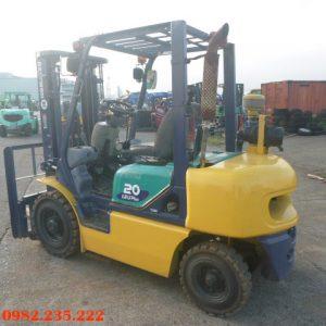 Xe nâng dầu Komatsu cũ 2 tấn 2000