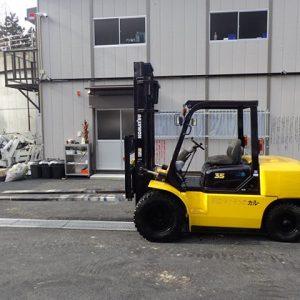 Xe nâng dầu Komatsu cũ 3.5 tấn đời 1998