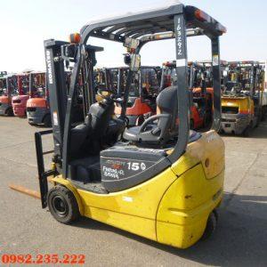 Xe nâng điện 3 bánh Komatsu cũ 1.5 tấn 2007