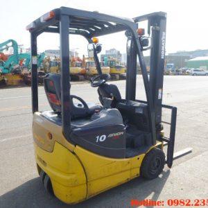 Xe nâng điện 3 bánh Komatsu cũ 1 tấn 2008