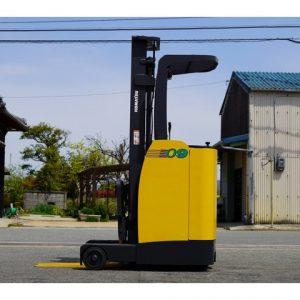 Xe nâng điện đứng lái Komatsu cũ 0.9 tấn đời 2007