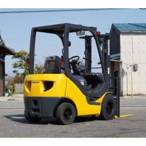 Xe nâng xăng Komatsu cũ 1.5 tấn đời 2004